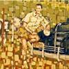 Francisco Moya Moya y sus tres vacas 1937