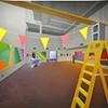 Christian Flynn Gallery with ladder