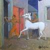 Carlos Cancio Dos mulatos y un caballo