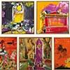 Matthias Koster Honore to... Seven-part series: W. Busch, Apollinaire, Balzac, Le Corbusier, V. Bellini, Kameliendame, M. Monroe