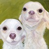 Double the Chihuahua Attitude Original Dog Painting