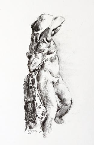 Michelangelo's Slave, Florence
