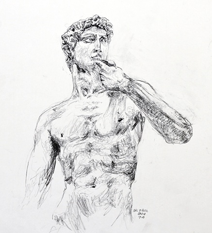 Michelangelo's David, Florence, Italy