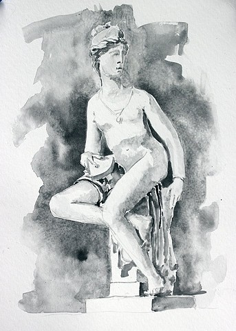 From a sculpture at the Bargello Museum in Florence, Italy