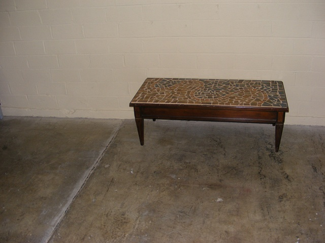 Document of the original coffee table