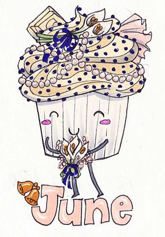 Cupcake Calender: June