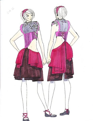Look 2 illustration