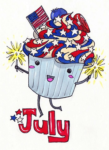 Cupcake Calender: July