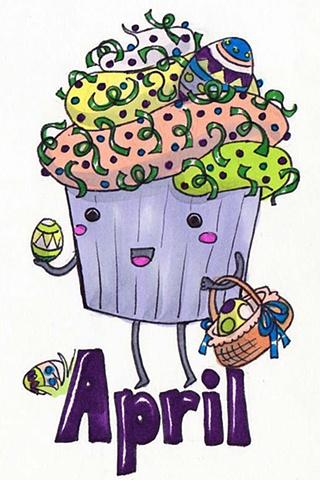 Cupcake Calender: April