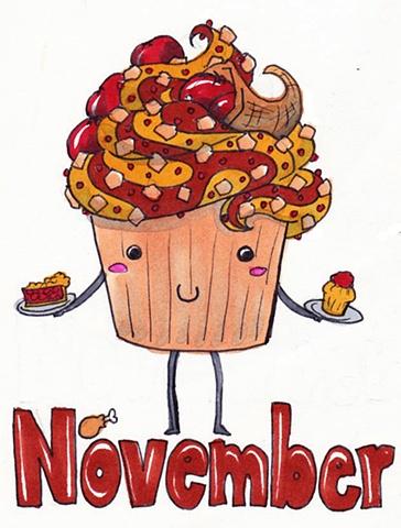 Cupcake Calender: November