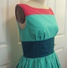 Tricolor Betty Dress