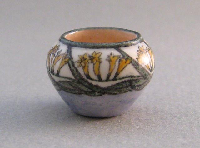 handcrafted miniature ceramic vase by LeeAnn Chellis Wessel