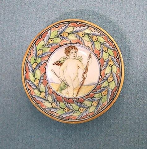 miniature pottery dish by LeeAnn Chellis Wessel