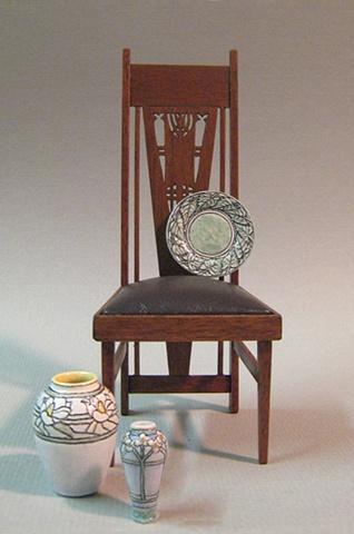 Miniature Elmslie chair
