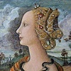"""Portrait of Simonetta Vespucci"" after Piero di Cosimo  1480-90"