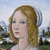 """ Portrait of a Young Woman"" after Domenico Ghirlandaio 1490"