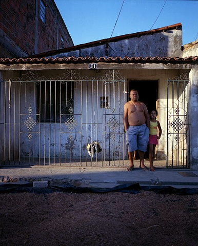 Kel and his niece, Capim Grosso, Bahia; 2009