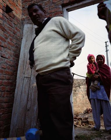 Man and woman; Bhojpur, Uttar Pradesh