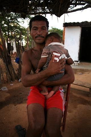 Father, Piabas, Bahia; 2009