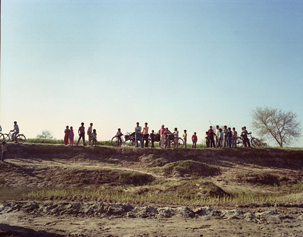 The village; outside Dhampur, Uttar Pradesh