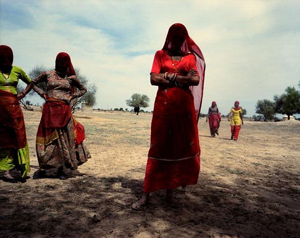 Women; Thar Desert, Rajasthan