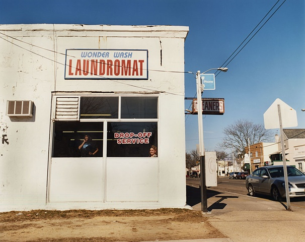 Wonder Wash, Asbury Park, New Jersey; North+South Series, 2005