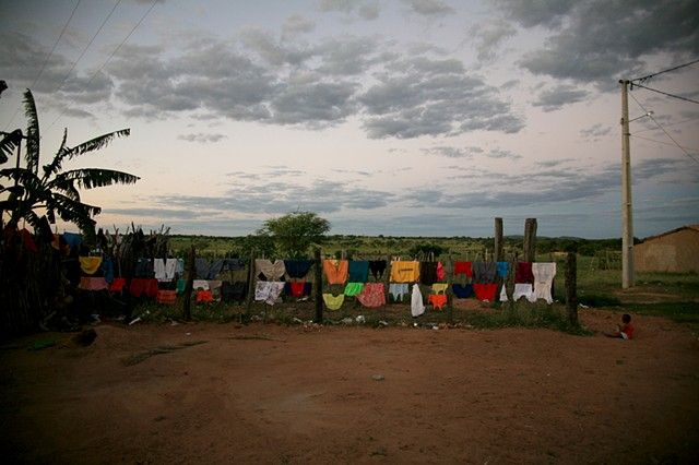 Paisagem colorido, Piabas, Bahia; 2009