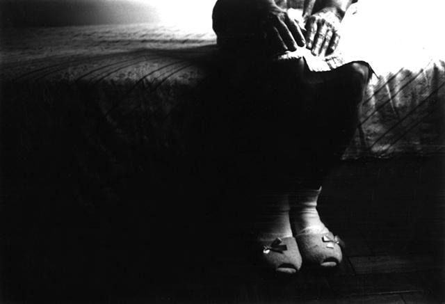 Tia Isa's slippers, Tijuca, Rio de Janeiro; 2003