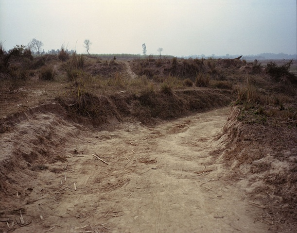 Path to nothing; Bhojpur, Uttar Pradesh
