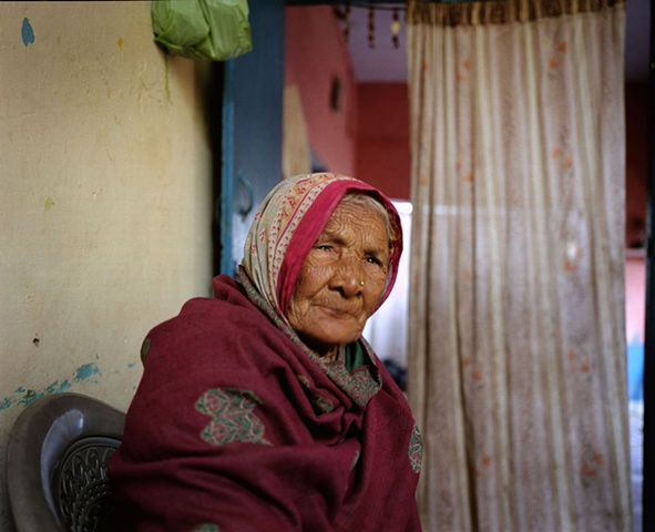 Village grandmother; Bhojpur, Uttar Pradesh