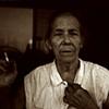 Vovó and her cigarette, Barra da Tijuca, 2010