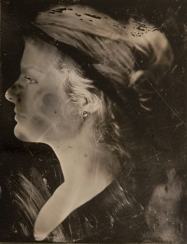 Tintype of Laura