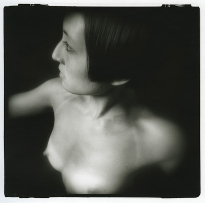 Silver gelatin darkroom print, shot with a Holga camera.