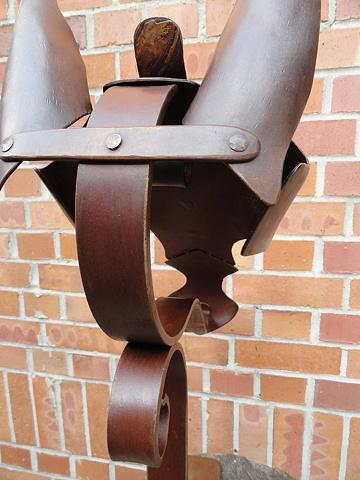 Pferde-Rüstung - ear detail