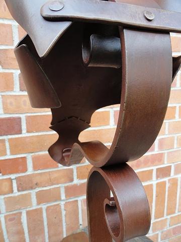 Pferde-Rüstung - construction detail