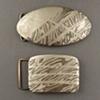Pattern Welded Belt Buckles
