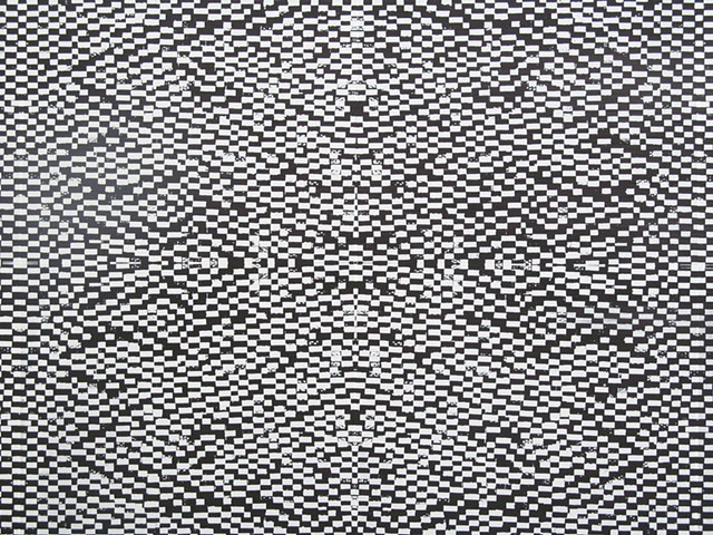 detail screenprint pattern