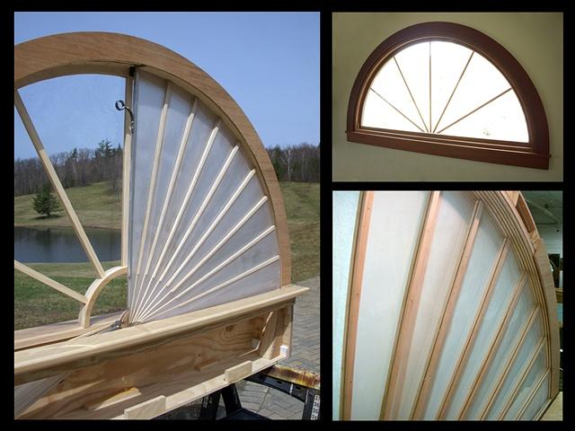 Radial Window Shade