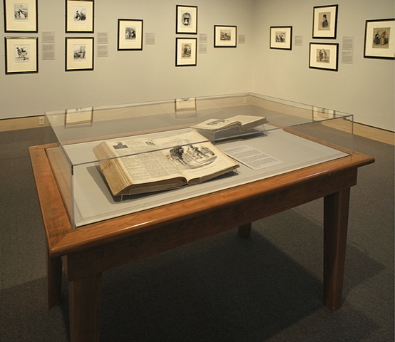 Museum Library Table