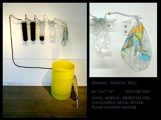 Wishing Newton Well  Interactive Installation