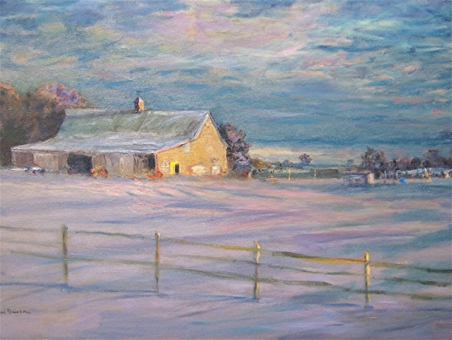 Meyer's Farm in Winter