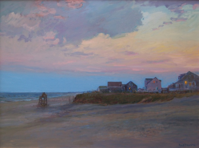 Twilight, Charlestown Beach