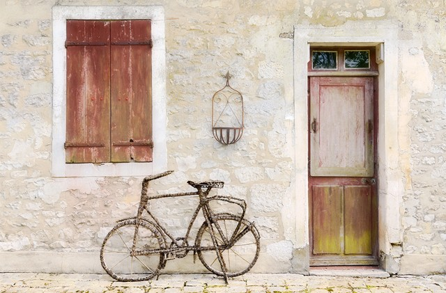 Rattan Bicycle  May 2014