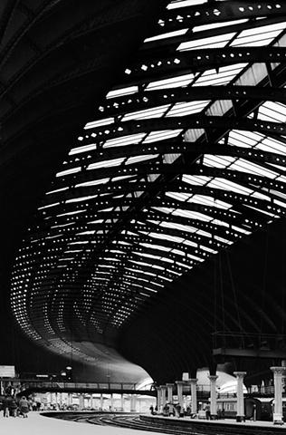 York Train Station   1979  Digital Print from Negative