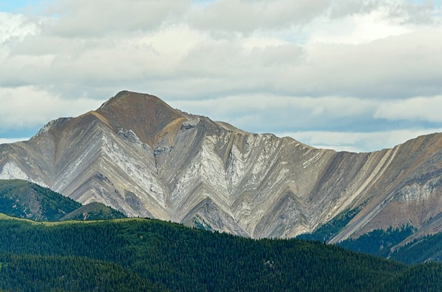 Zebra Mountain from Hanging Valley  July 2017
