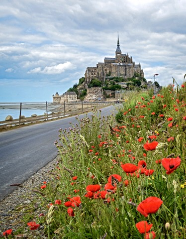 Mont St. Michel - France  May 2014