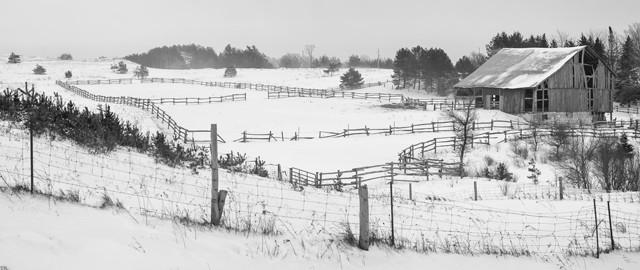 Wintry Farm  January 2014