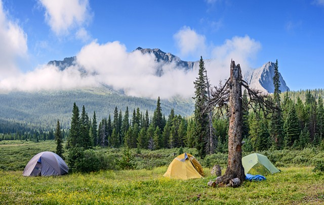 Morning in Eagle's Nest Camp  Aug 2016