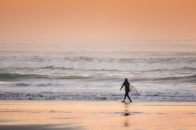Surfer at Dawn  Sep 2016