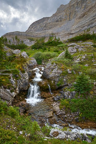 Falls Below Fernie Lakes  July 2016
